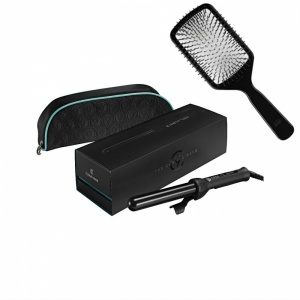 Cloud Nine Curling Wand With Free Paddle Brush