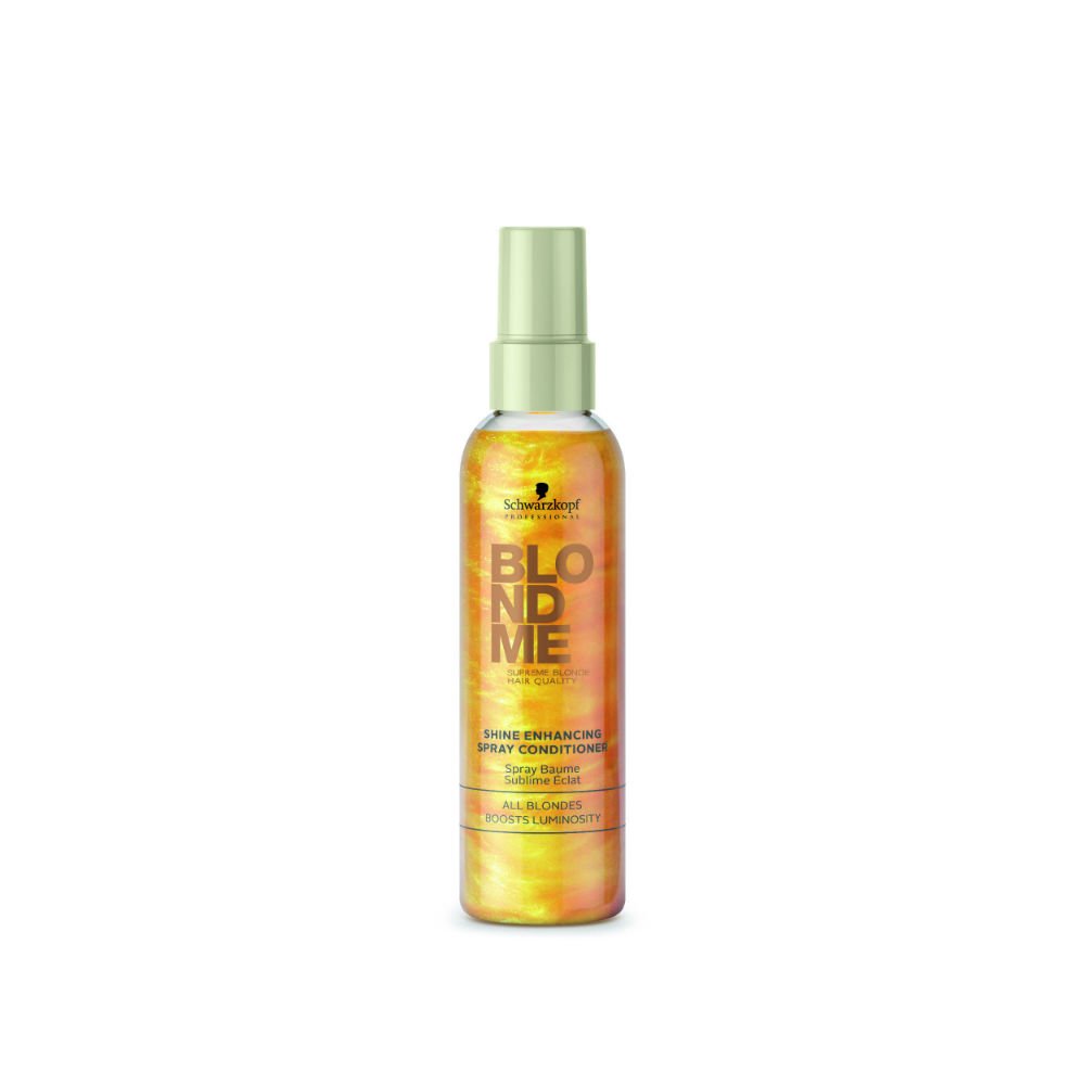 ... with Blondme Shine Enhancing Spray Conditioner - Merritts for Hair