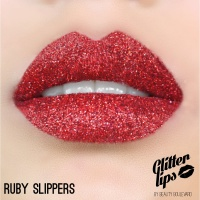 Glitter Lips Ruby Slippers