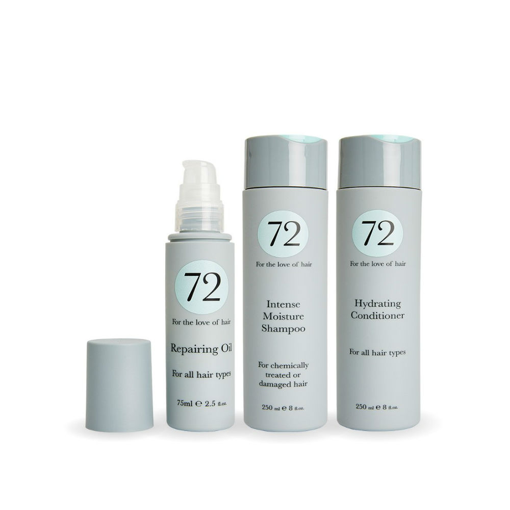 72 Hair Intense Moisture Collection