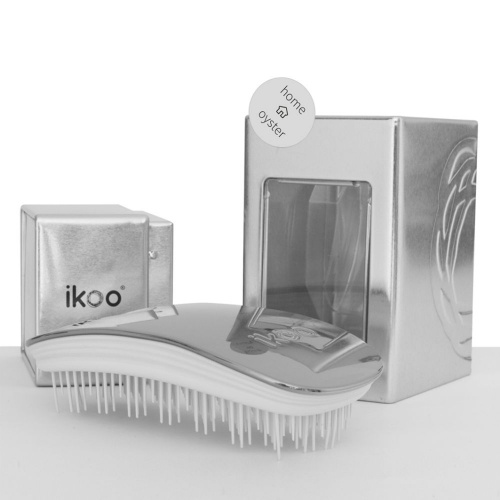 Ikoo Metallic Brush in Oyster