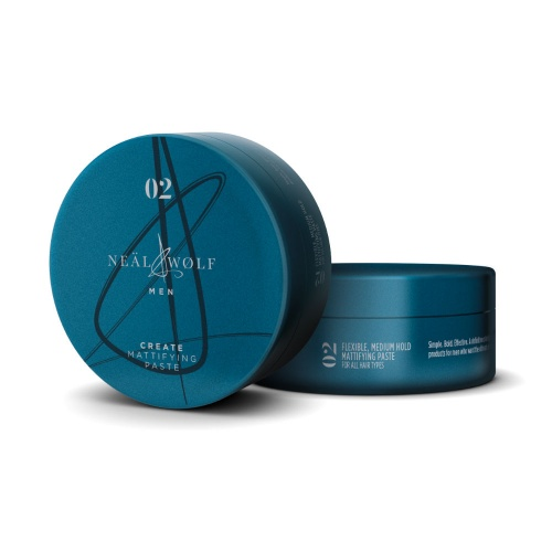 Neal and Wolf Men Create Mattifying Paste