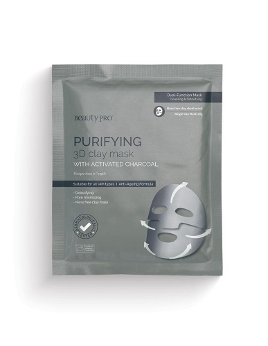 Purifying 3D Clay Mask