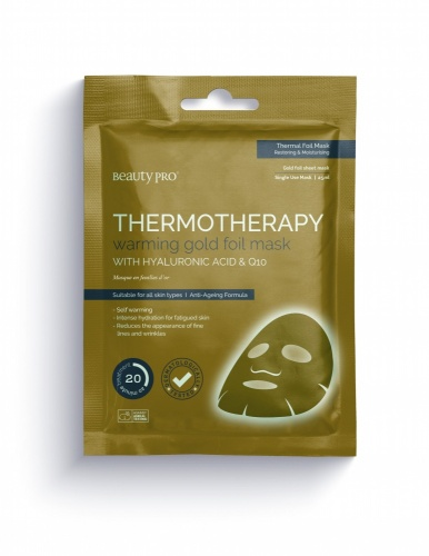 Thermotherapy Warming Gold Foil Mask