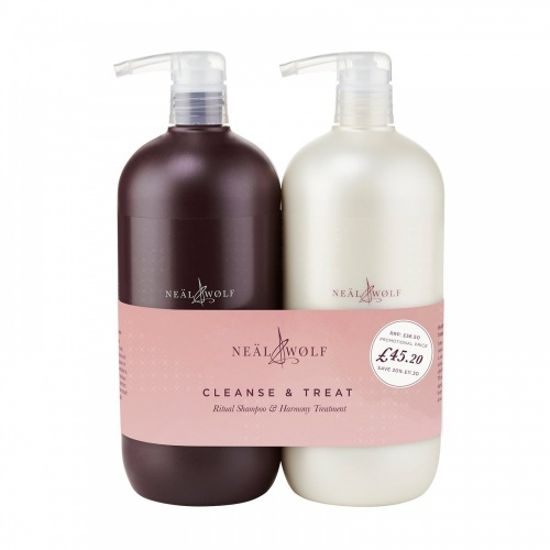 Neal & Wolf Cleanse and Treat Duo