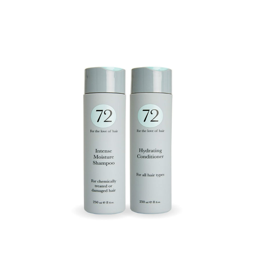 72 Hair Daily Intense Moisture Duo