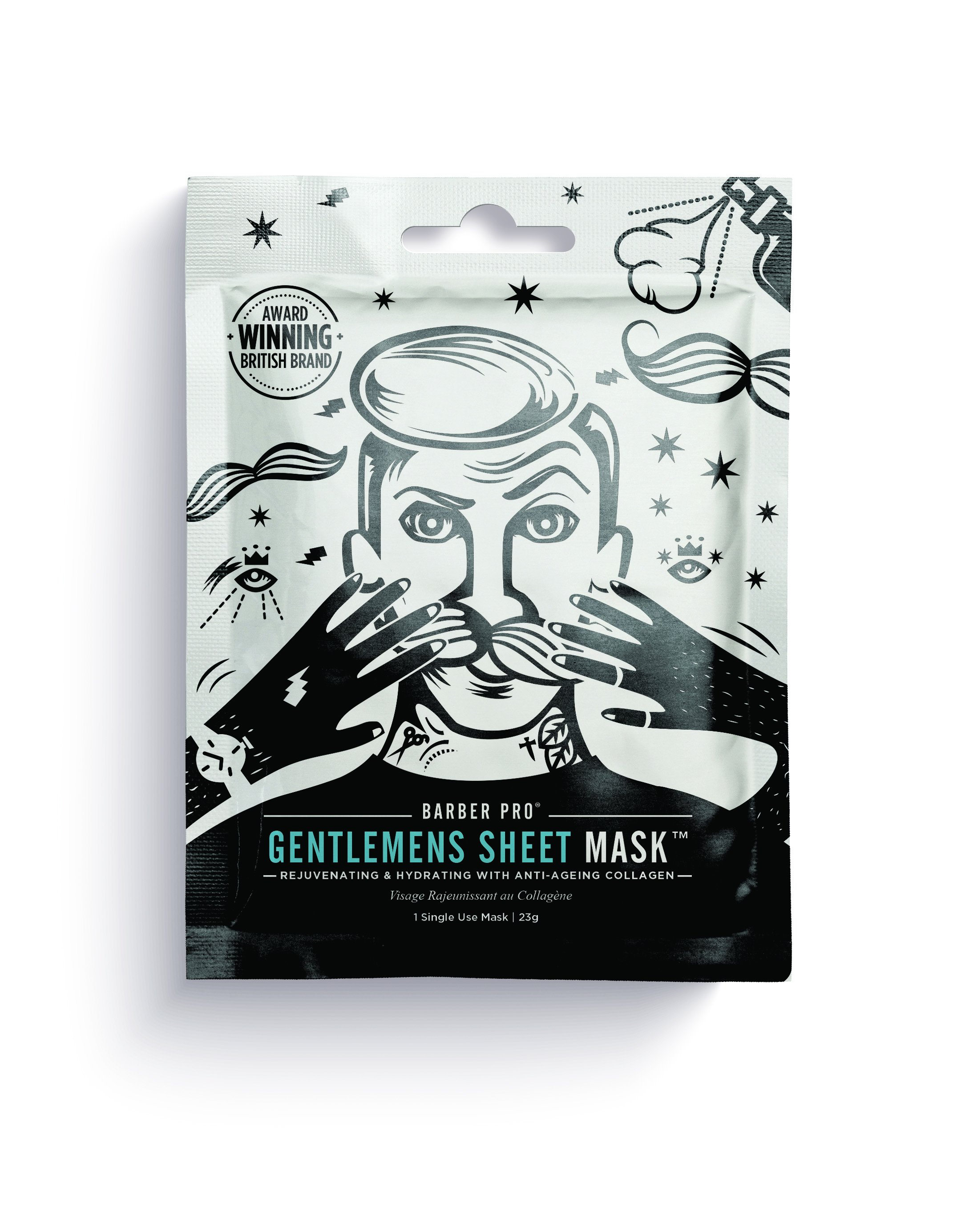 Beauty Pro Gentleman's Sheet Mask