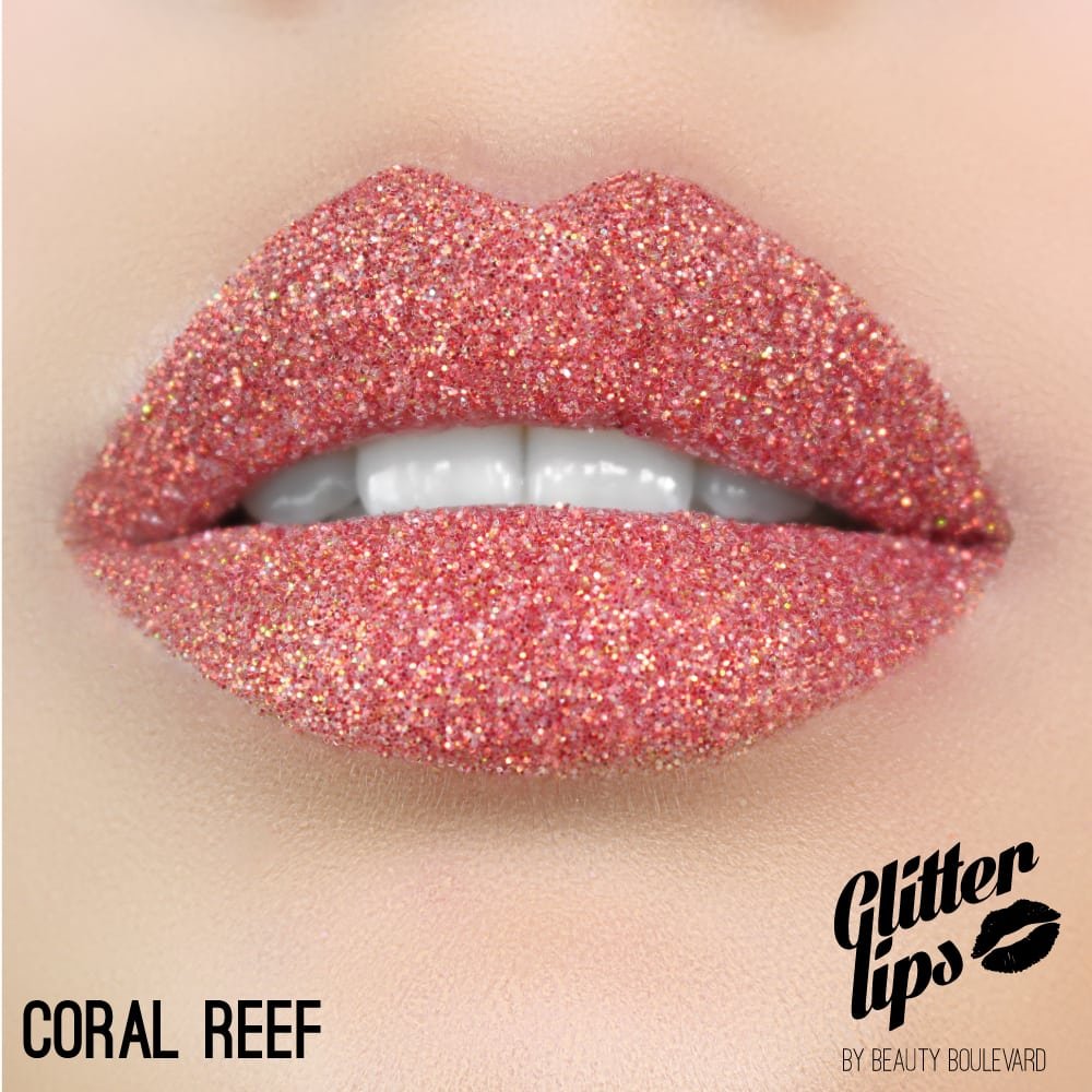 Glitter Lips Coral Reef