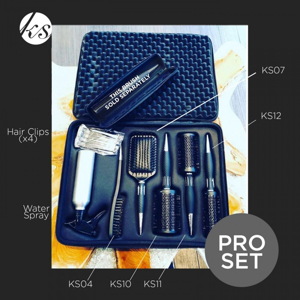 Kent Salon Pro Brush Kit
