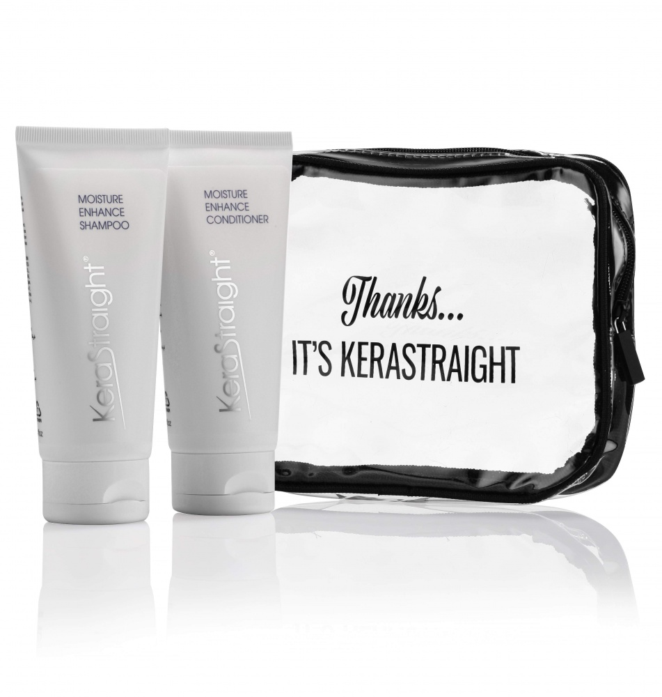 Kerastraight Moisture Enhance travel kit