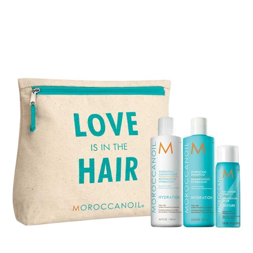 Moroccanoil love is in the hair hydration kit